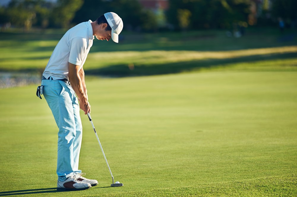 Make sure your putter is of the right length
