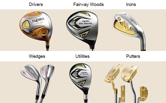 An Introduction To Different Types Of Golf Clubs And Their