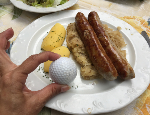 The Right Food For A Golfer's Palate